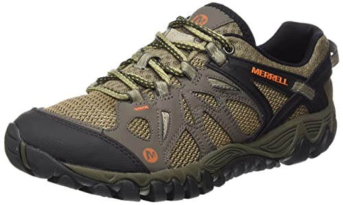 Merrell Men's All Out Blaze Aero Sport Hiking Shoe, Khaki, ...