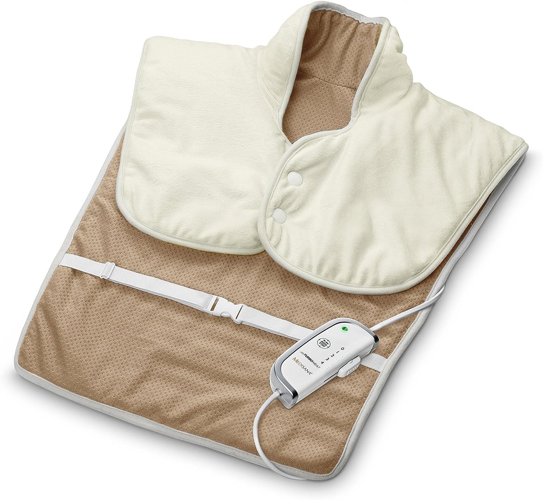 100 /% coton le dos 50 x 20 cm l/épaule avec c/œur en raisin Herbalind coussin pour le ventre certifi/é /Öko-Tex 3 chambres de coussin chauffant pour la nuque
