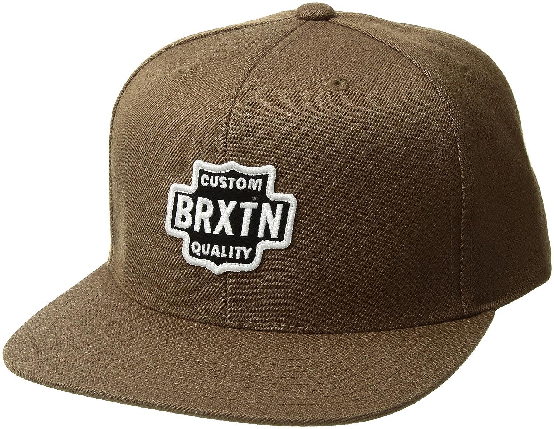 Brixton Mens Garth Medium Profile Adjustable Snapback Hat