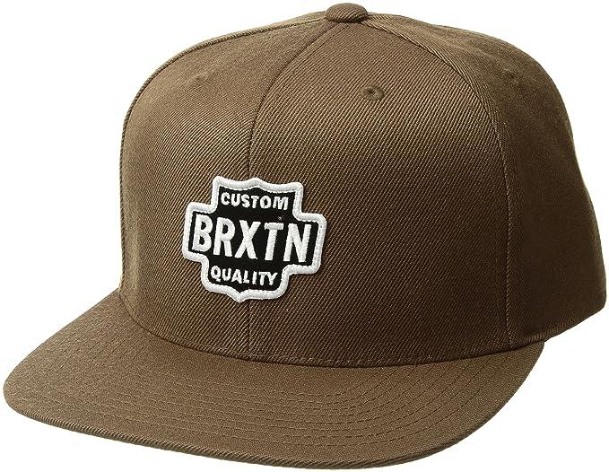 Brixton Unisex Gorra Garth, Unisex, 00815, Caqui Oscuro, Talla ...