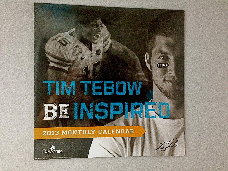Tim Tebow – Be Inspired – 2013カレンダー   B00AGKBA7Q