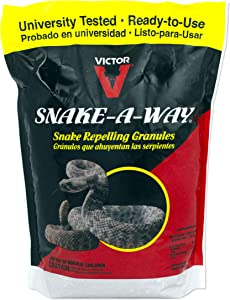 Victor VP364B Way Snake Repelling Granules – 4 LB, Red