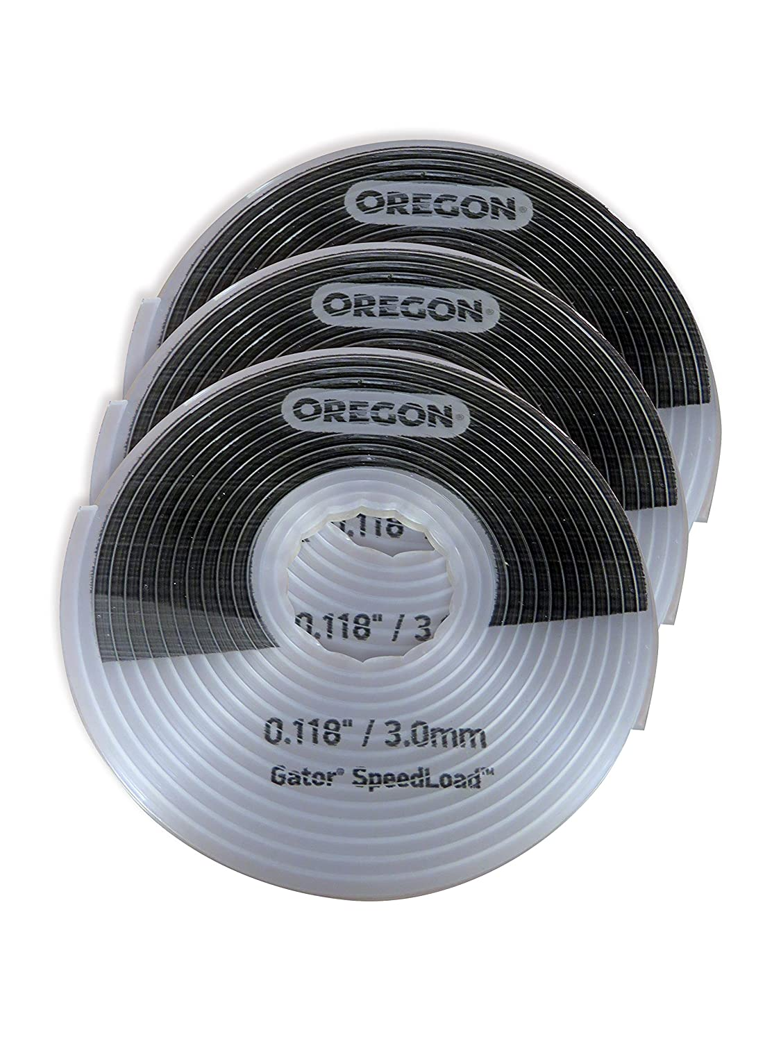 518 03/ 3.0/ mm x 5.52/ m Grande Gator Speedload Coupe-bordures de remplacement de disque 24-518-10 Oregon 24 blanc