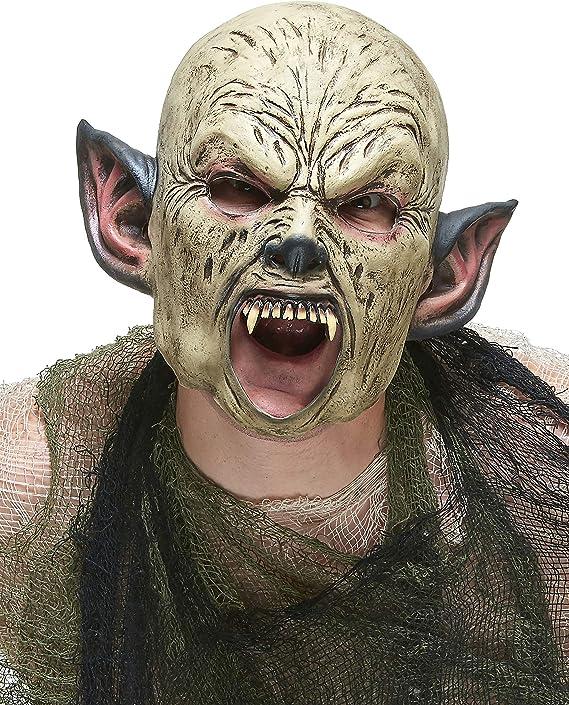 Vegaoo - Máscara látex orco Adulto - Única: Amazon.es: Juguetes y ...