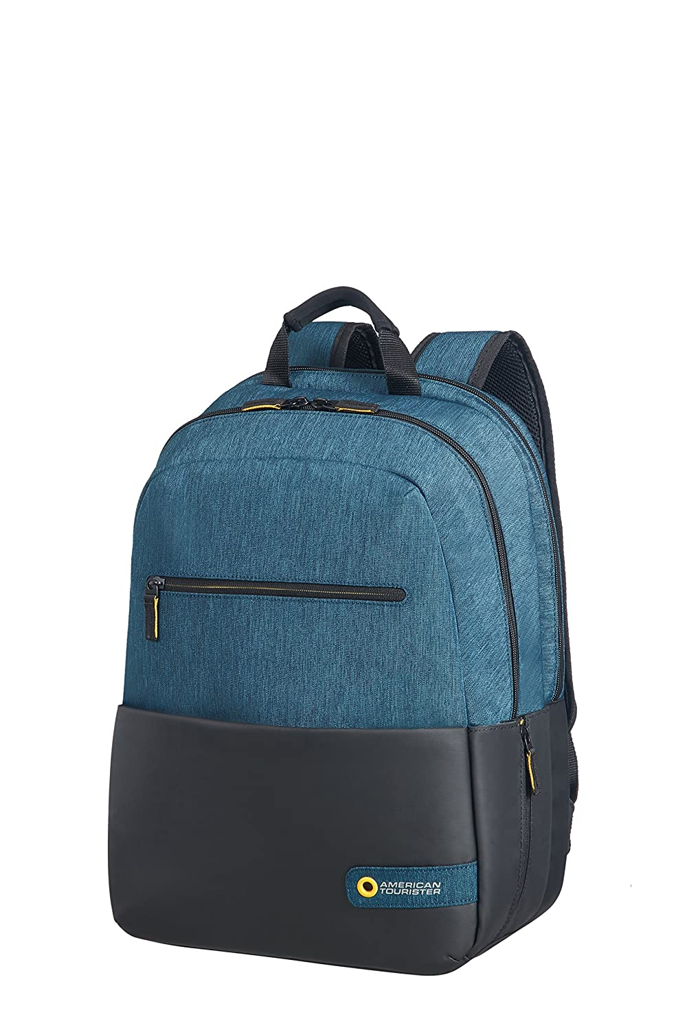 American Tourister City Drift Zaino Casual, 40 cm, 20 litri, Black/Blue 80525/2642