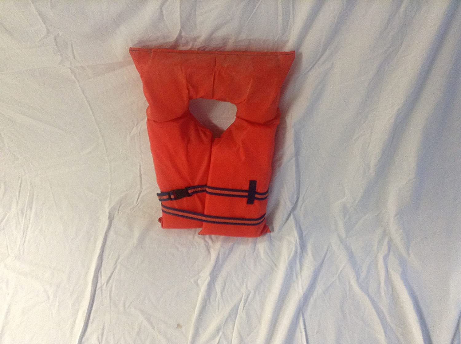 Type II Orange Life Jacket Vest PFD - Adult Universal - Coast Guard Approved by Onyx Outdoor   B00NCRKSYG