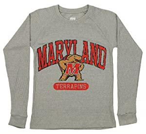 Outerstuff NCAA Youth Boys Maryland Terrapins Victory Logo Long Sleeve Tee