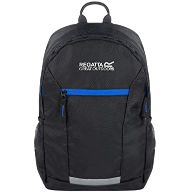 d4327379cc66 Regatta Kids Kids Black  Jaxon  10L Day Pack One Size  Amazon.co.uk ...