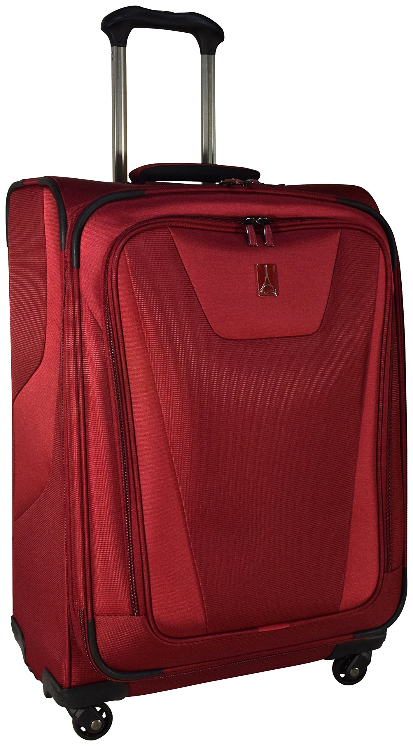 Travelpro Maxlite 4 Expandable 25 Inch Spinner Suitcase (Merlot)