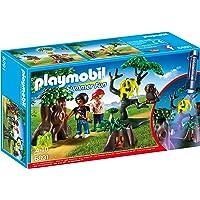 Playmobil Campamento de Verano- Night Walk Playset, Multicolor