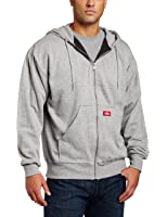 Dickies Men's Thermal-Lined Zip Hooded Fleece Jacket