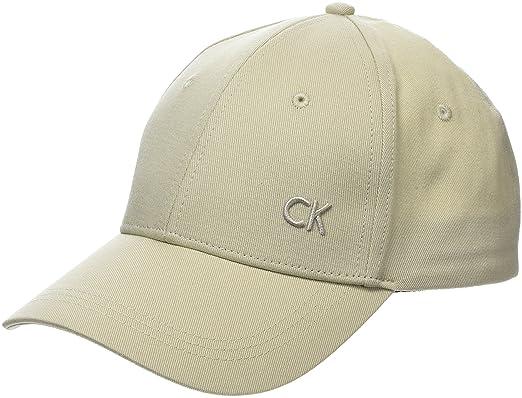 Calvin Klein CK Baseball Cap W, Gorra de béisbol para Mujer, Blanco (Cement