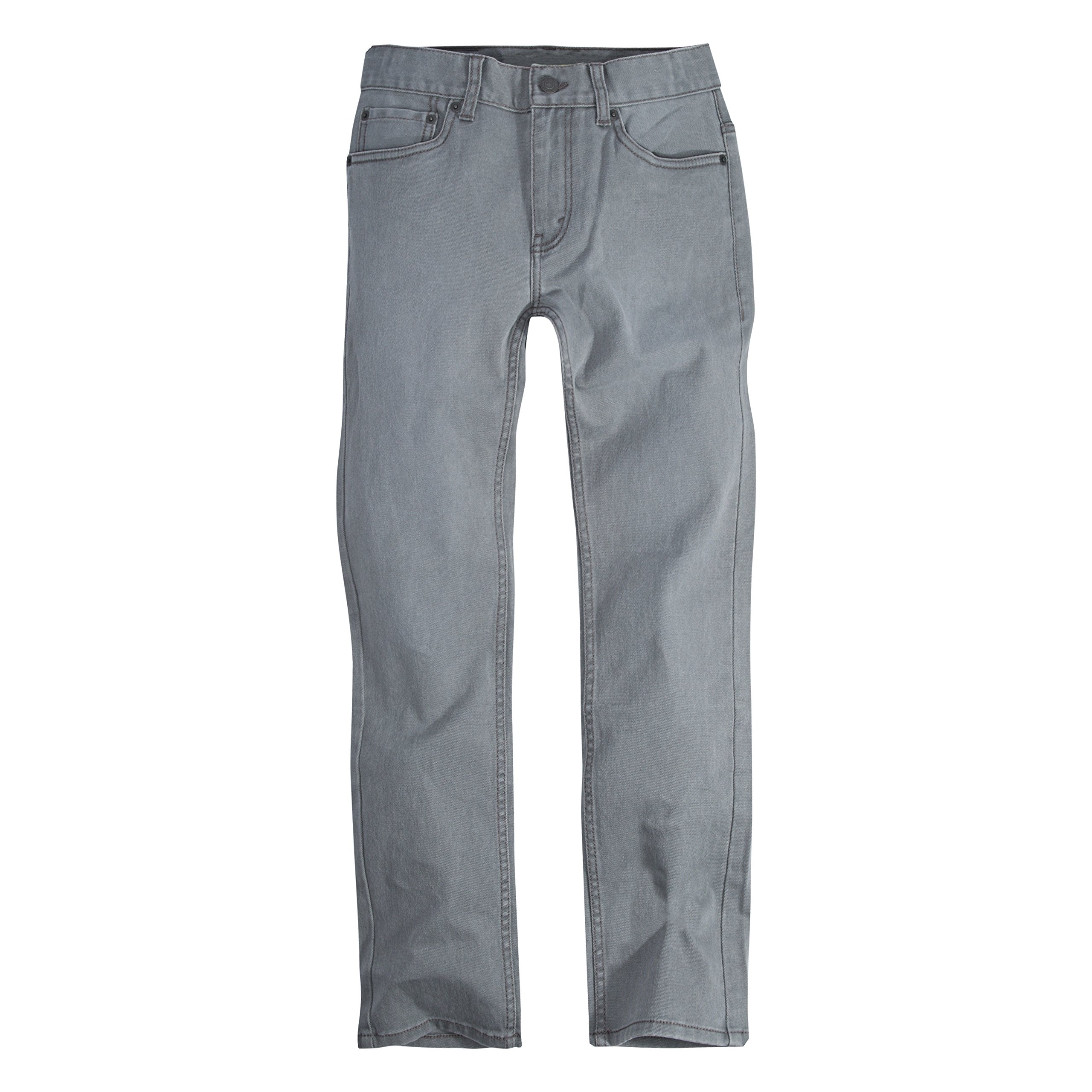 Levi's Big Boys' 511 Slim Fit Jeans, Smoked Pearl, 8