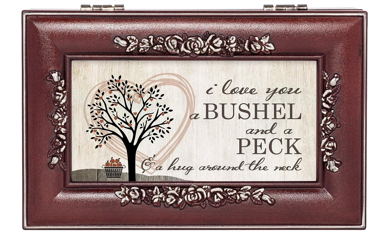 2019春大特価セール! Love Box You Bushel and Finish a Peck Rosewood Finish Jewellery Music Music Box - Plays You are My Sunshine B01DL1NCQS, デジタルセブン:60b00cc4 --- arcego.dominiotemporario.com
