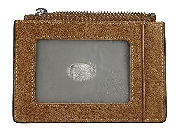 Cartera de cuero RFID Minimalista con bloqueo: Un Porta tarjetas para chicos modernos e inteligentes - GlimOrb (R): Amazon.es: Equipaje