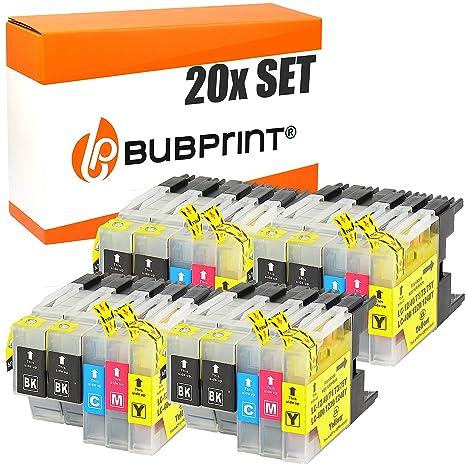 Bubprint 20 Cartuchos de Impresora Compatible con Brother lc-1220 ...