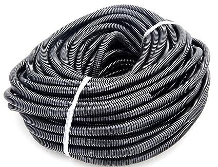 amazon com gs power s 100 feet split loom tube polyethylene high rh amazon com Electrical Conduit Installation Electrical Raceway Conduit