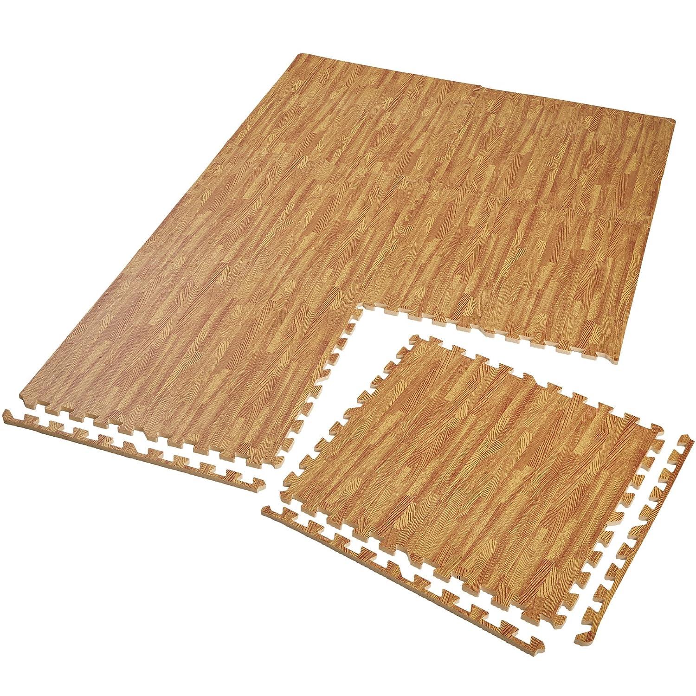Tectake Schutzmattenset Bodenschutzmatte | Rutschfest, schmutzabweisend | erweiterbares Stecksystem | diverse Modelle