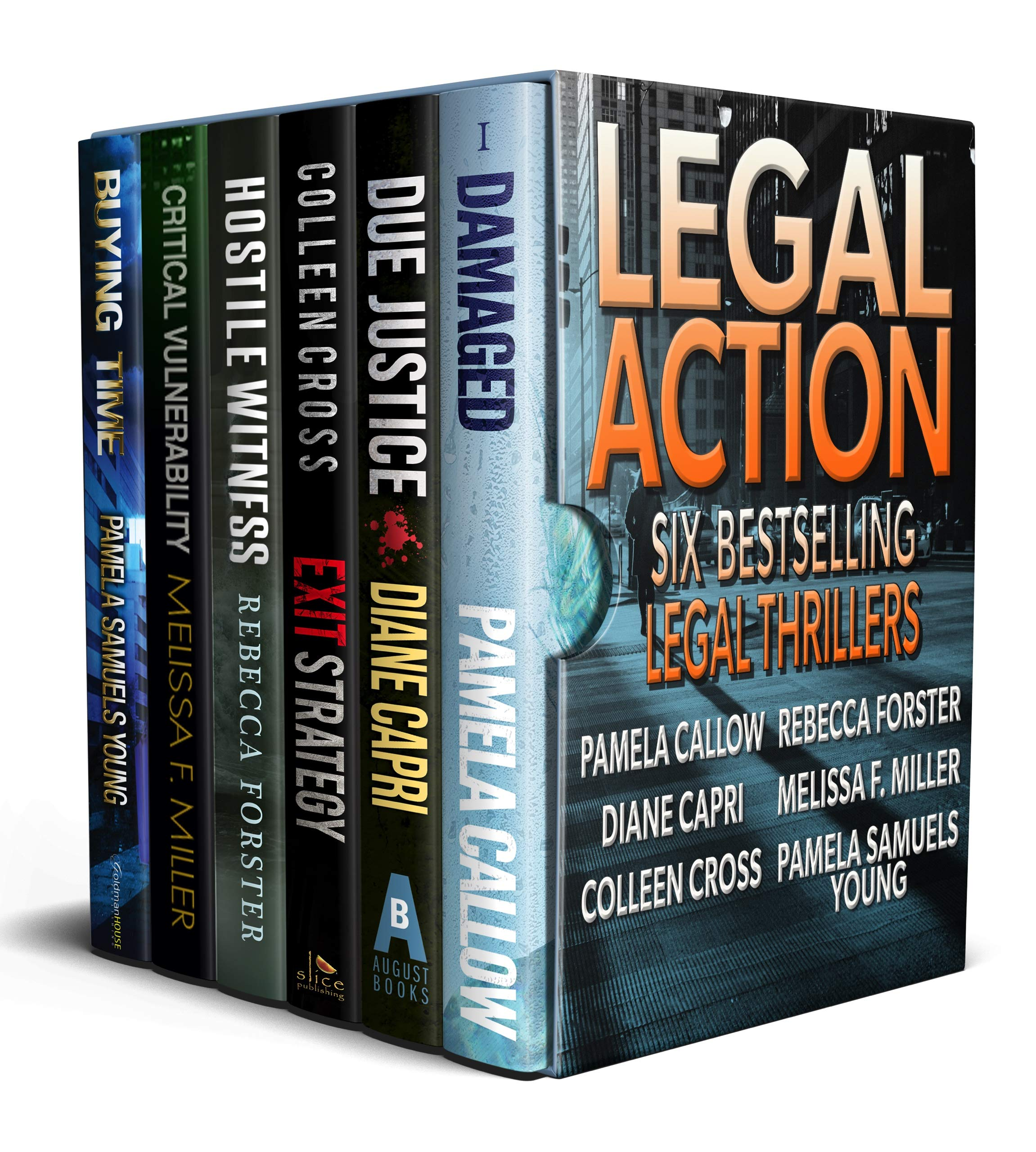 Legal Action: Six Legal Thrillers (Ladies of the Legal Thriller Book 1)