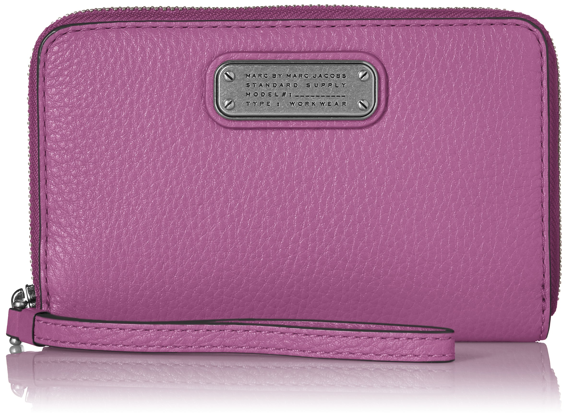 Marc by Marc Jacobs New Q Wingman Wristlet, Lovely Violet, One Size