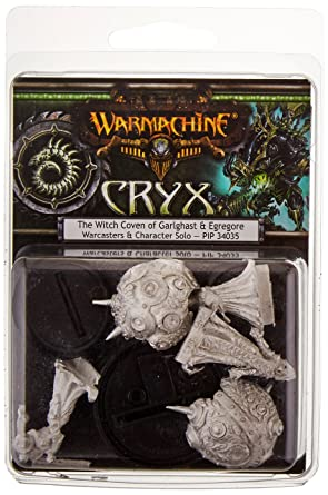 Privateer Press - Warmachine - Cryx: Witch Coven of Garlghast Model Kit