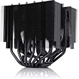 Noctua NH-D15S chromax.Black, Premium Dual-Tower CPU Cooler with NF-A15 PWM 140mm Fan (Black)