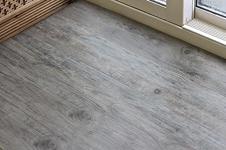 100% Waterproof Luxury Vinyl Tile (LVT) Click Fit Laminate Flooring ...