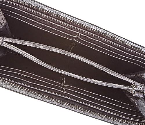 Solange, Portafoglio Donna, Argento , 2x10x20,5 cm