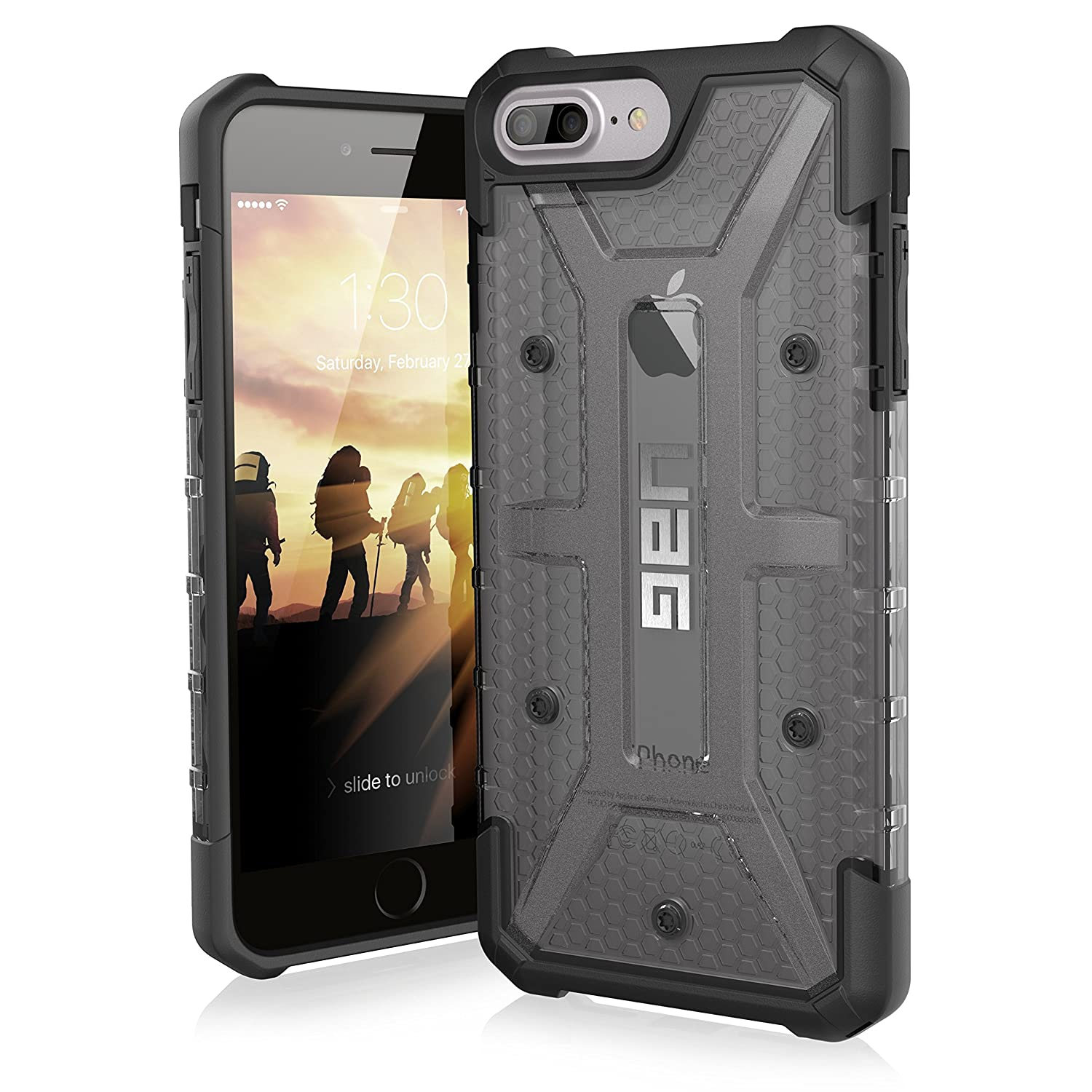 huge selection of 92977 96348 UAG iPhone 8 Plus / iPhone 7 Plus / iPhone 6 Plus [5.5-inch screen] Plasma  Feather-Light Rugged [ASH] Military Drop Tested iPhone Case