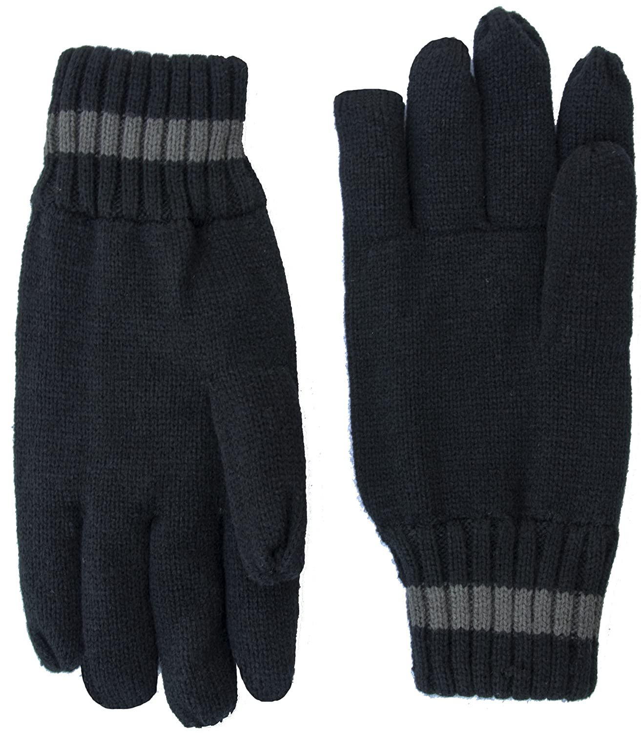 EEM Big Mens knitted gloves THOMAS warm winter with thermal lining