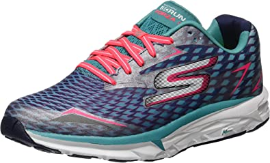 Skechers Go Run Forza 2018, Zapatillas de Deporte Exterior para Mujer, Azul (Nvaq), 36 EU: Amazon.es: Zapatos y complementos