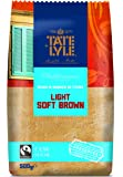 Tate & Lyle Fairtrade Light Brown Soft Sugar, 500g