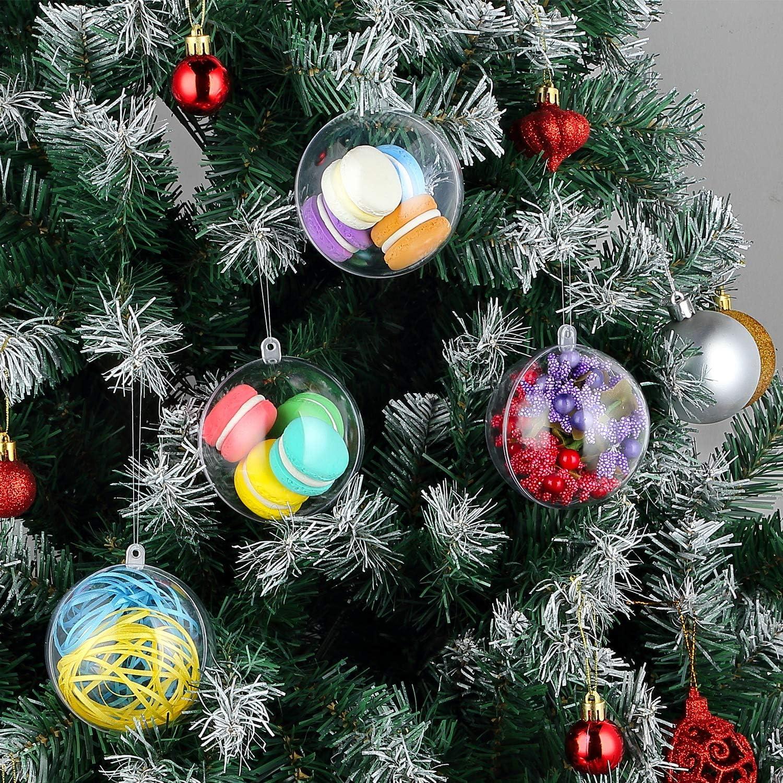 25* xmas glass memory bauble 5cm table xmas tree wedding centrepice theme