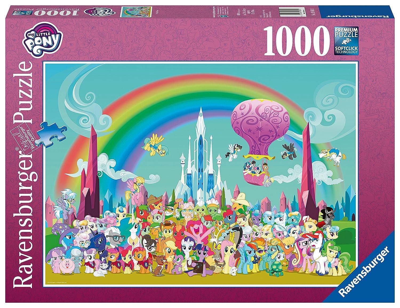 Ravensburger Little 19880 Little Pony Pony 1000pcジグソーパズル 19880 B0794QLHV2, 美甘村:1435c526 --- ero-shop-kupidon.ru