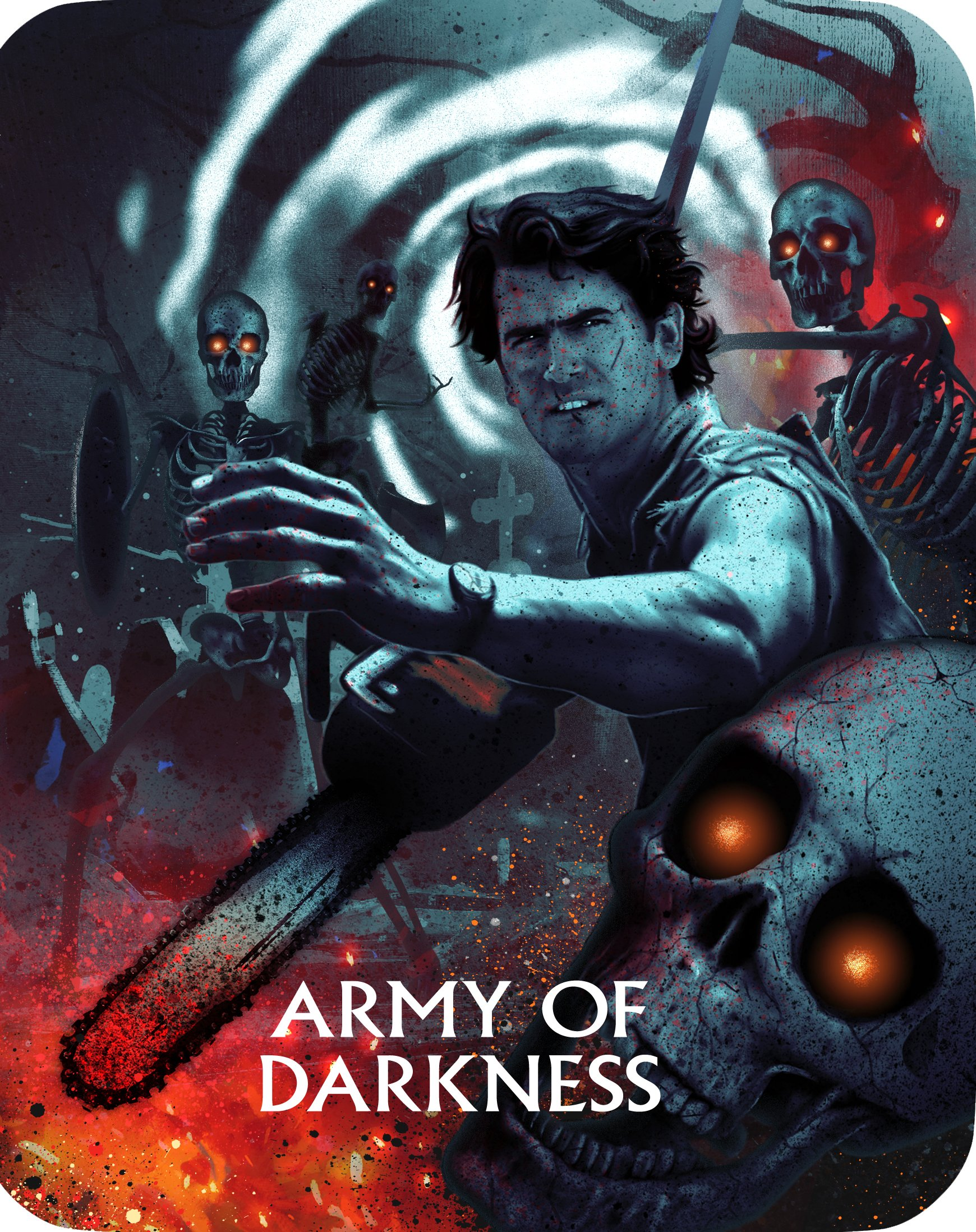 Blu-ray : Army Of Darkness (steelbook) (Limited Edition, Steelbook, Widescreen, Dubbed, 3 Pack)