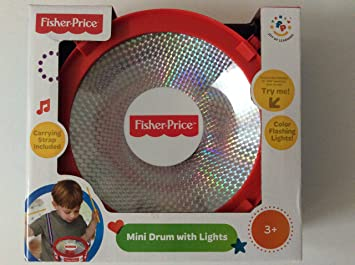 Fisher Price Mini Drum With Lights Drums Percussion Amazon Canada