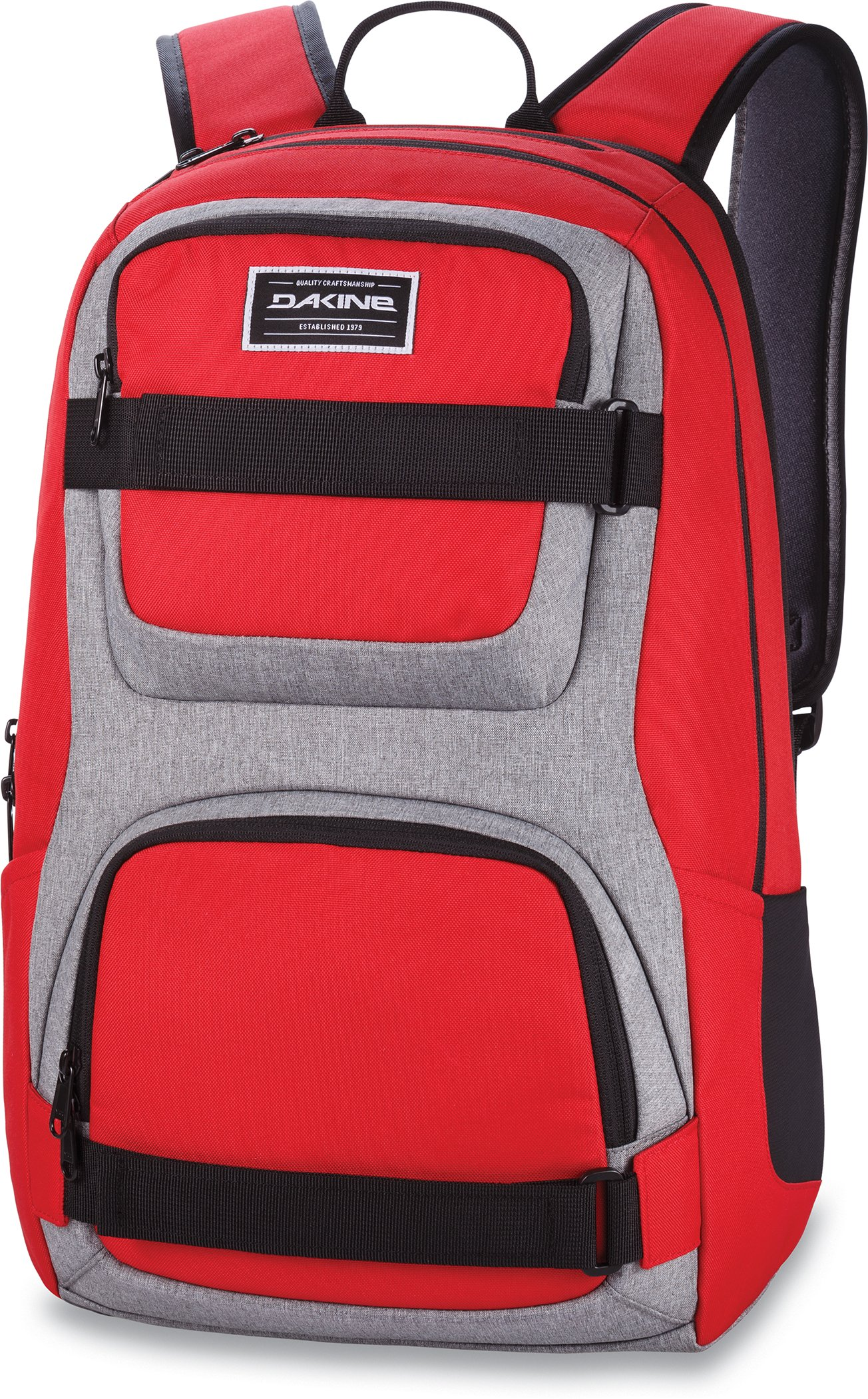 Dakine - Duel 26L Backpack - Padded Laptop & iPad Sleeve - Insulated Cooler Pocket - Mesh Side Pockets - 19'' x 12'' x 9'' (Red) by Dakine