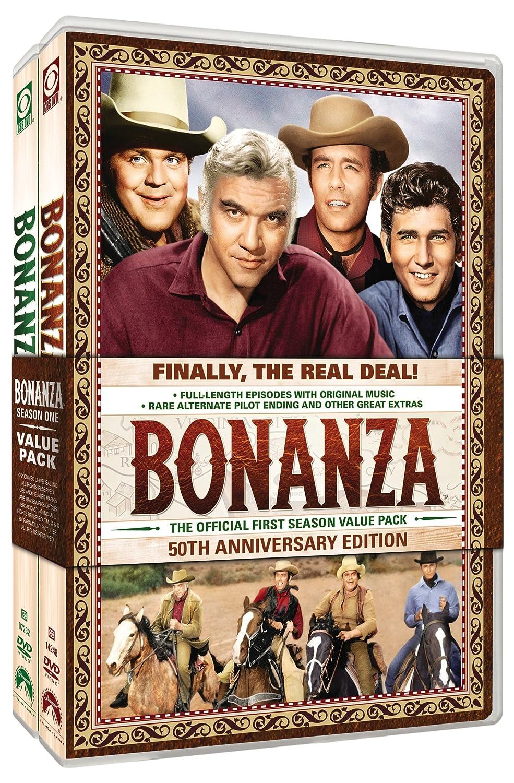 3e8b15507de9 Amazon.com: Bonanza: Season 1-50th Anniversary Edition: Lorne Greene ...