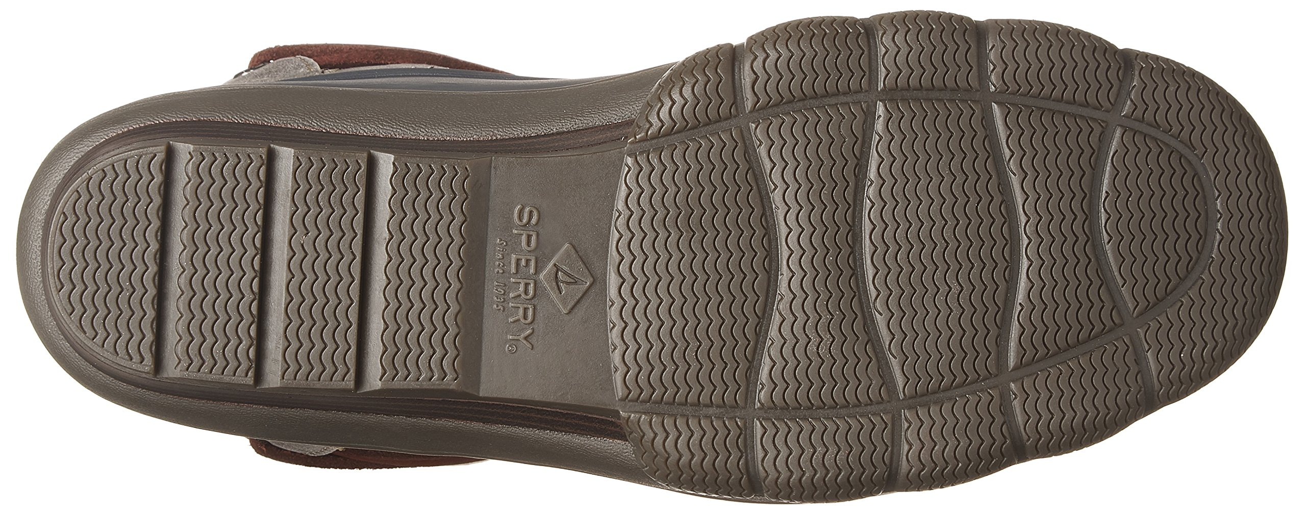 Sperry Top-Sider Women's Saltwater Wedge Tide Rain Boot, Grey, 8 Medium US by Sperry Top-Sider (Image #3)