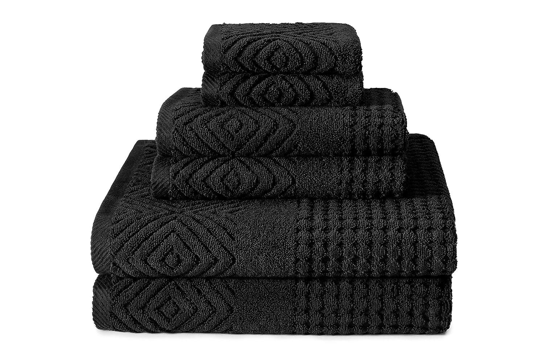 Texere Organic Cotton Jacquard Bath Towels