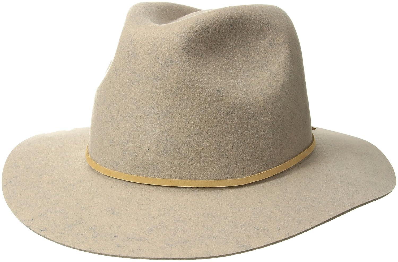 Brixton Men's Wesley Fedora Hat Brixton Young Men's 00212