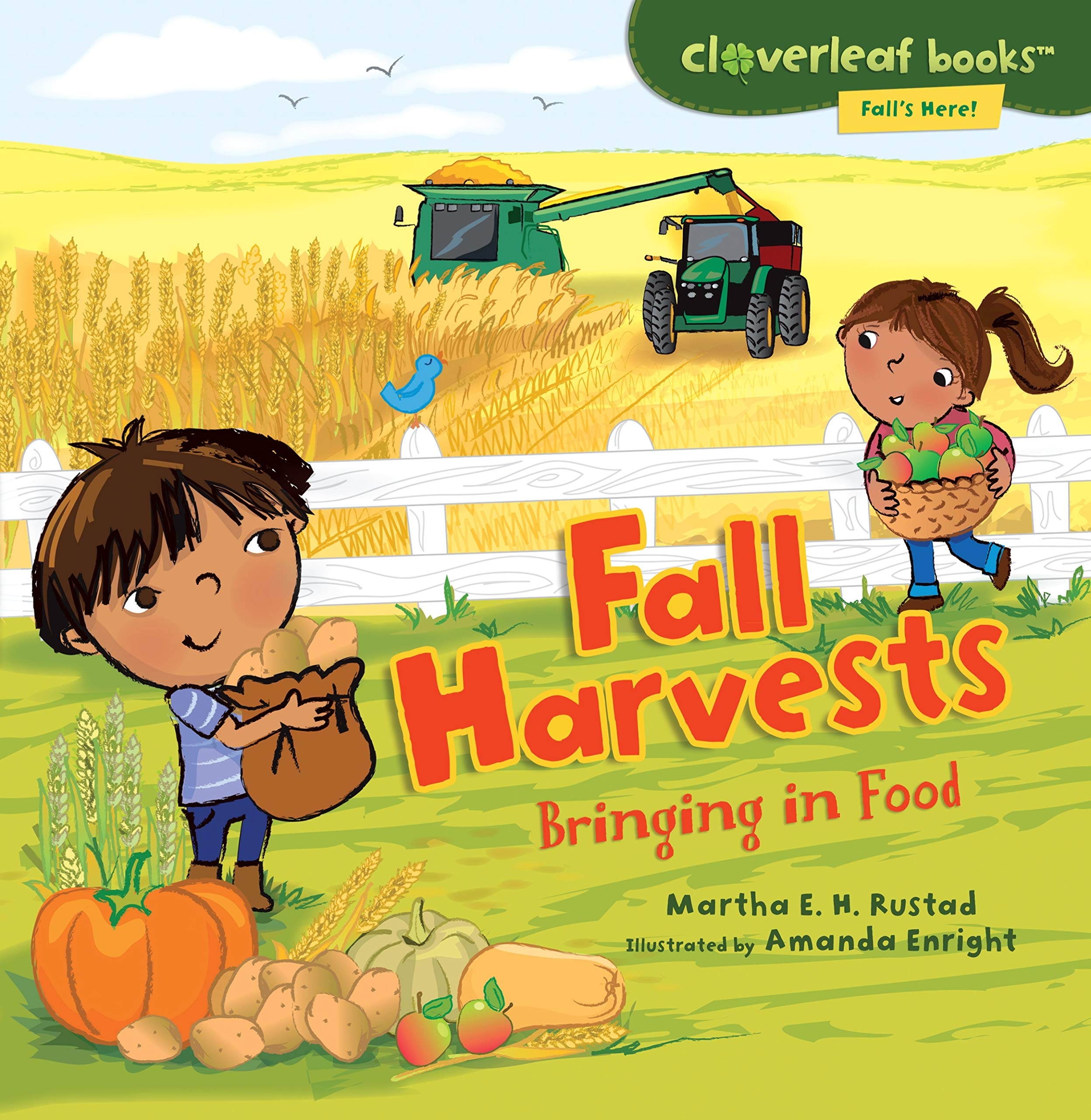 Download Fall Harvests: Bringing in Food (Cloverleaf Books: Fall's Here!) PDF
