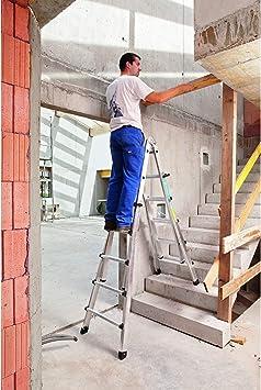 Zarges escalera 4 teilig Z300 42394: Amazon.es: Bricolaje y herramientas