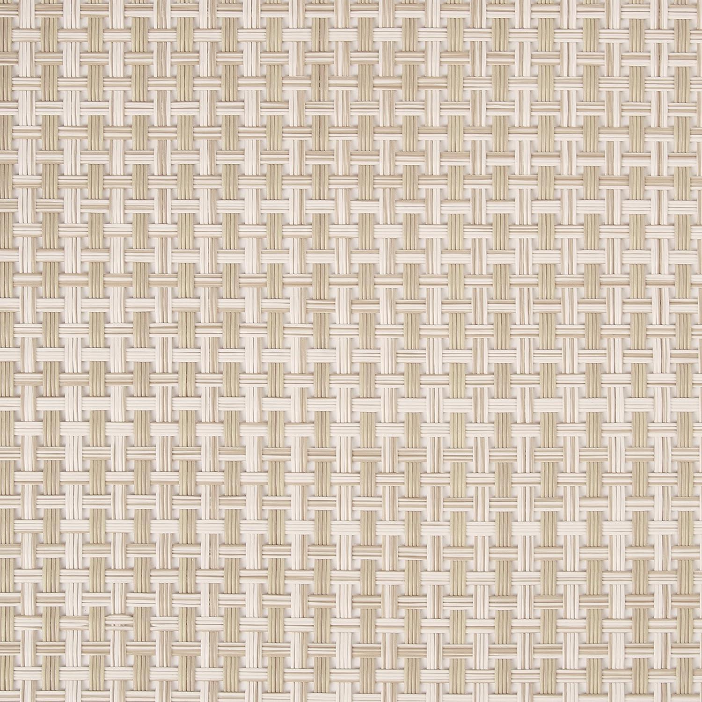 benson mills longport woven vinyl placemat beige set of 8 home garden linens bedding table. Black Bedroom Furniture Sets. Home Design Ideas