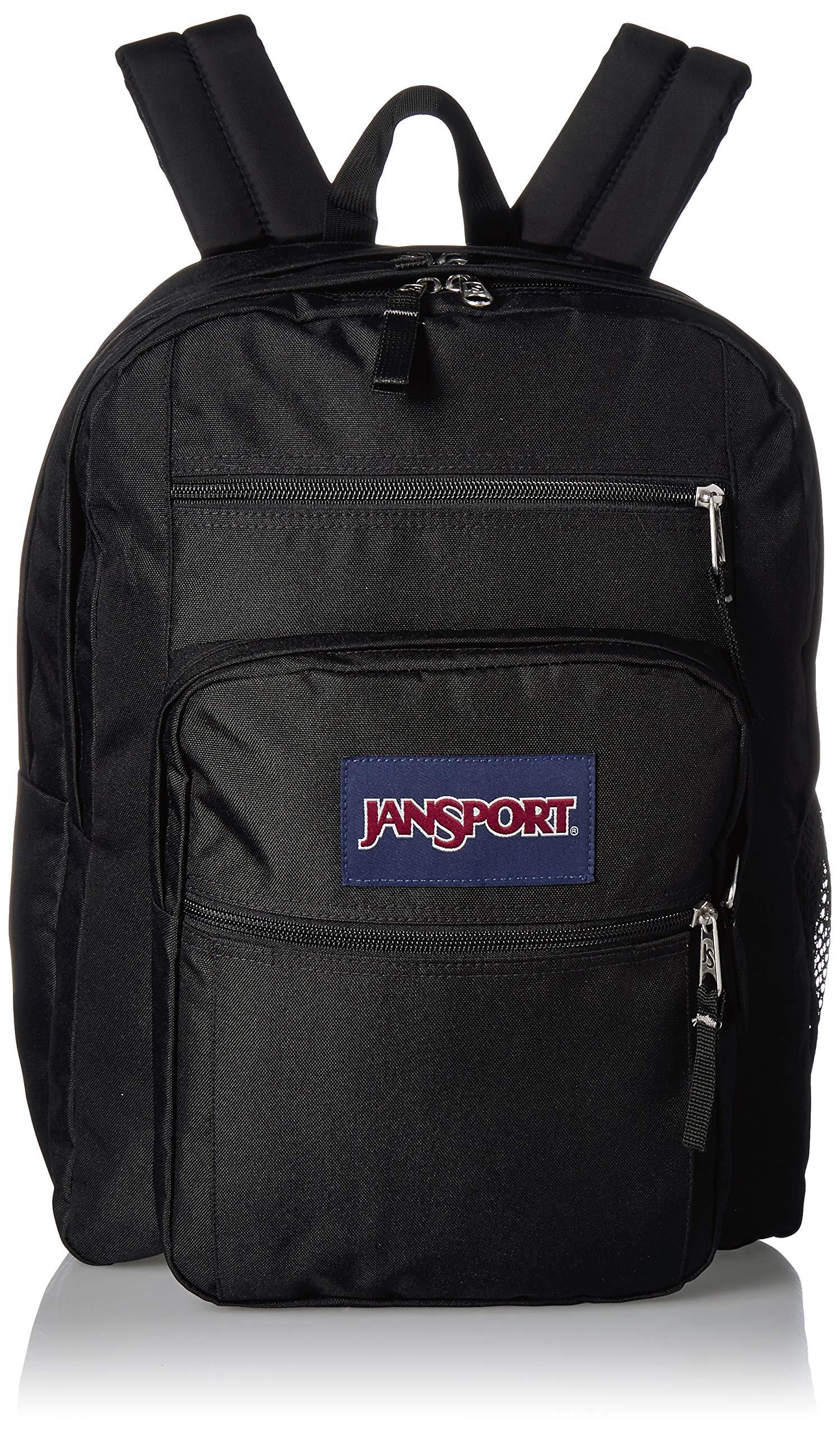 JanSport Big Student Backpack - 15-inch Laptop School Pack, Black by JanSport