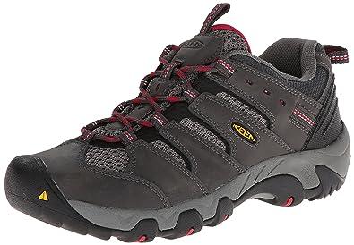 KEEN Women's Koven Hiking Shoe, Magnet/Cerise, ...