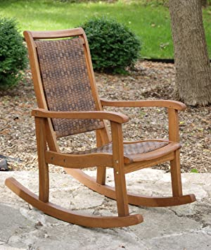 Outdoor Interiors 21095RC All Weather Wicker Mocha and Eucalyptus ...