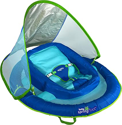 Amazon.com: Flotador para niños Swimways Baby Spring ...