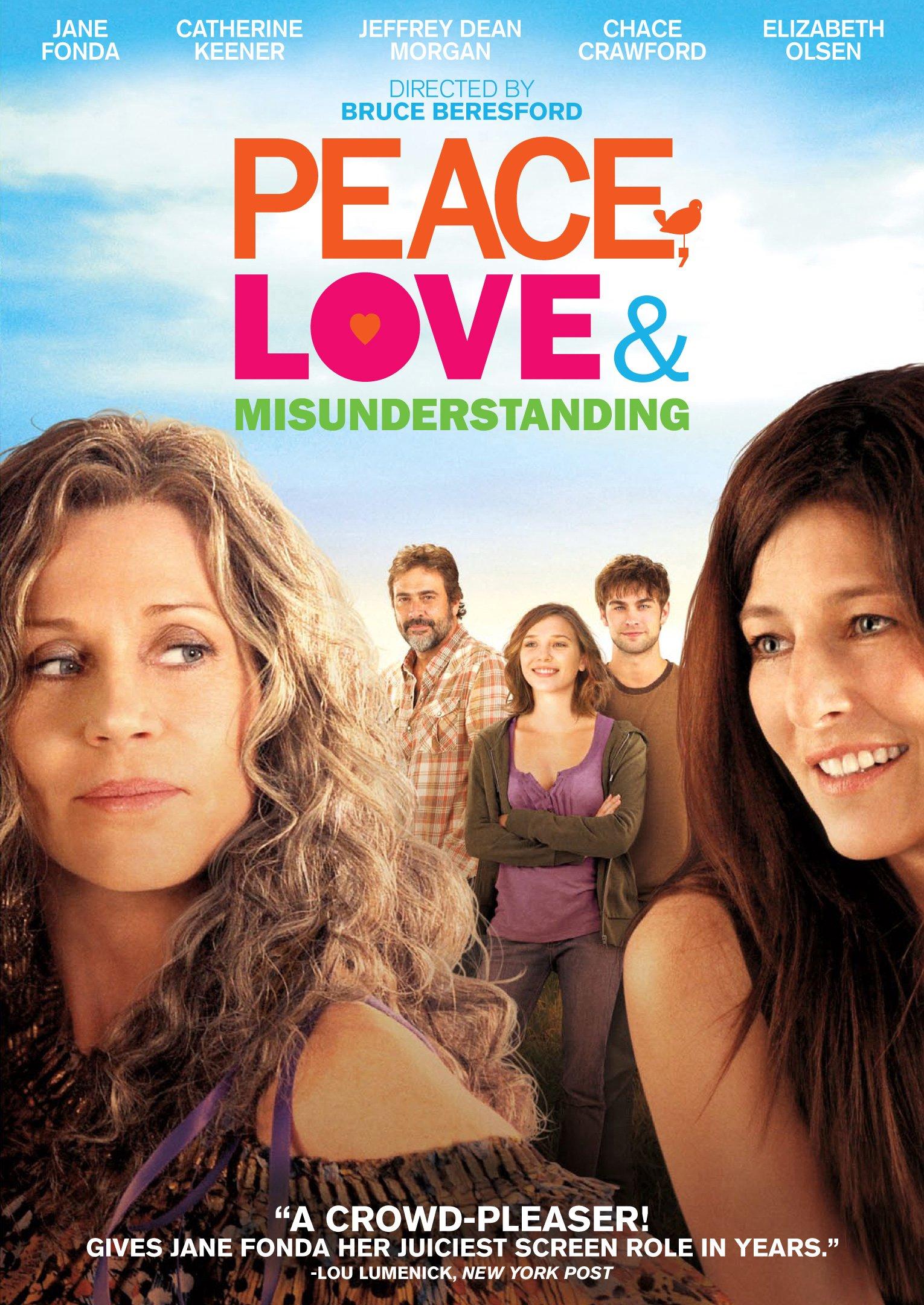 DVD : Peace, Love and Misunderstanding (DVD)