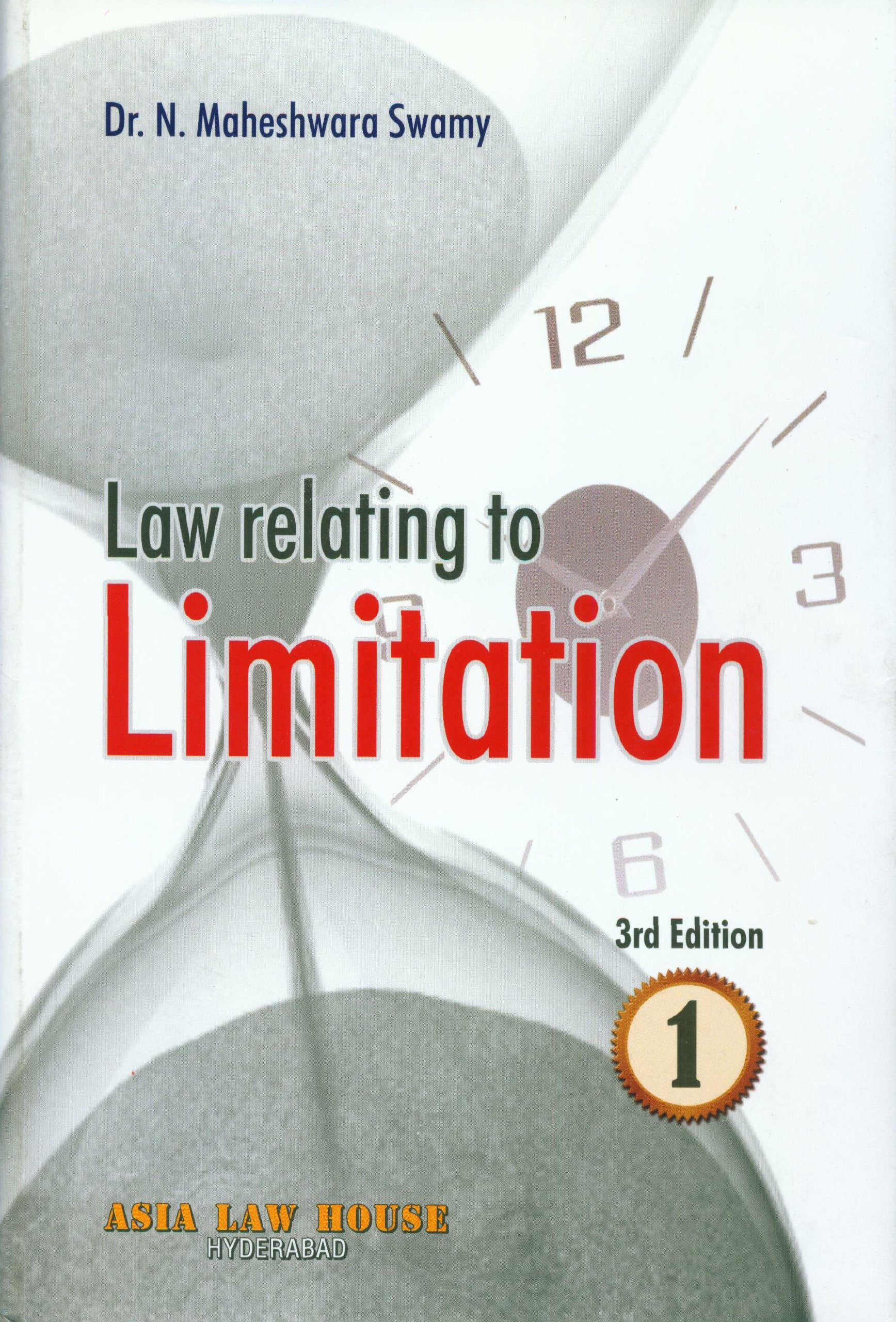 Law relating to Limitation ebook